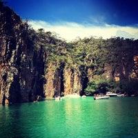 Photo taken at Escarpas do Lago by Priscila O. on 4/9/2012