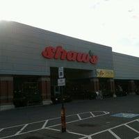 Photo taken at Shaws Supermarket by Scott M. on 6/17/2012