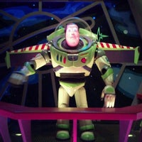 Photo taken at Buzz Lightyear's Space Ranger Spin by Gary K. on 4/29/2012