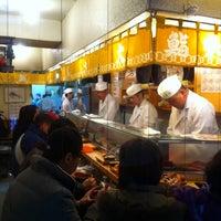 Photo taken at Daiwa Sushi by Gabriel H. on 4/1/2012