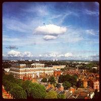 Photo taken at Premier Inn London Hammersmith by Mark B. on 7/15/2012