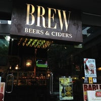 Photo taken at BREW Beers & Ciders by Tanaphat V. on 3/15/2012