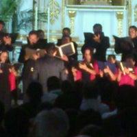 Photo taken at Iglesia de El Carmen de Abajo by Emmanuel C. on 4/2/2012