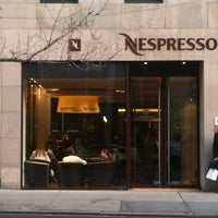 Photo taken at Nespresso Boutique Bar by Vin S. on 3/8/2012