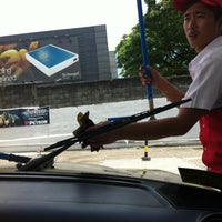 Photo taken at Petron Greenhills by AebbyGurl on 4/1/2012
