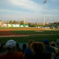 Photo taken at Dozer Park by Randy P. on 8/25/2012