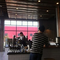 Photo taken at Handsome Coffee Roasters by Joe F. on 7/11/2012