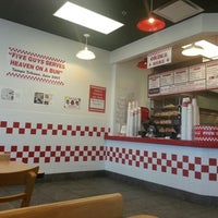 Photo taken at Five Guys by Uriah B. on 8/2/2012