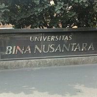 Photo taken at BINUS University by Indra J. on 8/10/2012