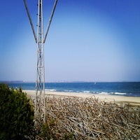 Photo taken at Северен Плаж (North Beach) by SuperTed on 4/12/2012