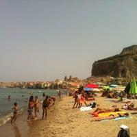Foto scattata a Spiaggia di Cefalù da Chronocento il 8/6/2012
