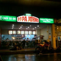 Photo taken at Papa John's by Ingrid M. on 6/18/2012