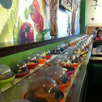 Photo taken at Okiru Running Sushi by Francis V. on 7/9/2012