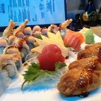 Photo taken at Baby Blue Sushi Sake Grill by Melissa M. on 3/24/2012