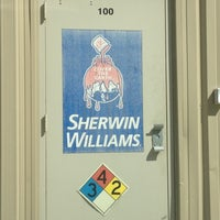 Photo taken at Sherwin-Williams Paint Store by Nadia J. on 4/11/2012
