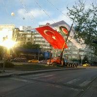 Photo taken at Tandoğan Square by İkliman K. on 5/1/2012