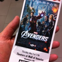 Photo taken at Theatres at Mall of America by Dane H. on 5/3/2012