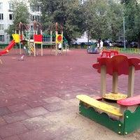 Photo taken at Детская площадка by Vasiliy Z. on 8/6/2012