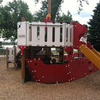 Photo taken at Sloan's Lake Pirate Playground by Rhonda R. on 6/3/2012