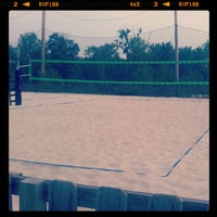 Photo taken at VFW Sand Volleyball by brett s. on 4/29/2012