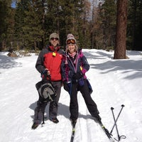 Photo taken at Tahoe Cross Country Ski Area by Fiona A. on 4/5/2012