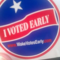 Photo taken at Wake County Board Of Elections by Lindsey M. on 5/2/2012
