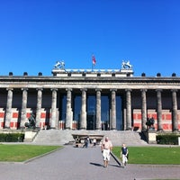 Photo taken at Altes Museum by Ahmet O. on 8/19/2012