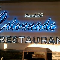 Photo taken at The Colonnade Restaurant by Hadrian X. on 3/17/2012