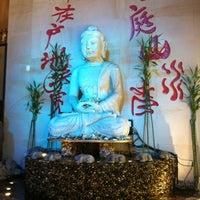 Photo taken at Buddha Asian Bistro & Hibachi by Jennifer R. on 8/30/2012