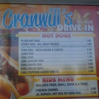 Photo taken at Cranwill's Drive In by Randy F. on 5/13/2012