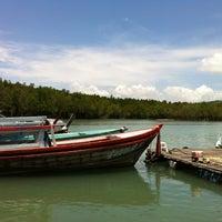 Photo taken at Bang Rong Pier by Chanyut C. on 4/11/2012