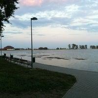 Photo taken at Plaja Neptun by Traian T. on 8/9/2012