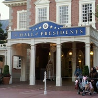 Photo taken at The Hall Of Presidents by Jai Stone (. on 7/1/2012