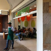 Photo taken at Yogoberry Original by Marcelo B. on 5/1/2012