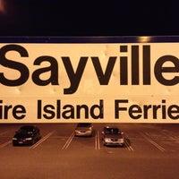 Photo taken at LIRR - Sayville Station by Roman T. on 9/1/2012