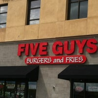 Photo taken at Five Guys by MrRogerMac on 8/31/2012