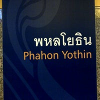 Photo taken at MRT Phahon Yothin (PHA) by Hatsadin N. on 9/2/2012
