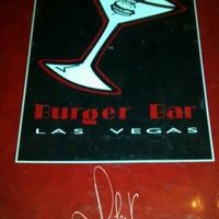 Photo taken at Burger Bar by Jon G. on 4/18/2012
