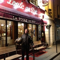 Photo taken at La Poule Au Pot by Patrick R. on 5/5/2012