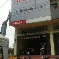Photo taken at Yamaha Serba Mulia Auto (Ring Road) by Yamaha Serba M. on 7/17/2012