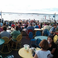 Photo taken at Memorial Union Terrace by Kevin on 6/22/2012