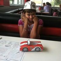 Photo taken at Steak 'n Shake by Carrie N. on 4/29/2012