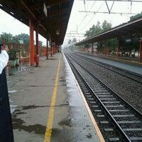 Photo taken at Stasiun Tanjung Barat by Sarah H. on 2/19/2012