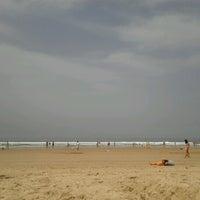 Photo taken at Praia do CDS by Carlos M. on 6/25/2012