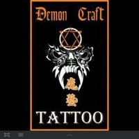 Photo taken at Demon Craft Tattoo by candy_ C. on 5/1/2012