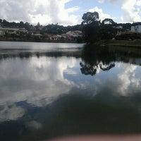 Photo taken at Lago do Orfeu by tulyo h. on 5/24/2012