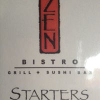 Photo taken at Zen Bistro Grill + Sushi by Dusty S. on 6/6/2012