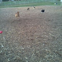 Photo taken at Bassett Creek Dog Park by Kristi B. on 3/30/2012