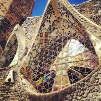 Photo taken at Cripta Gaudí by maquita50 L. on 9/2/2012