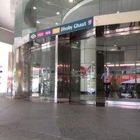 Photo taken at Dhoby Ghaut MRT Interchange (CC1/NE6/NS24) by John Raul II J. on 3/4/2012
